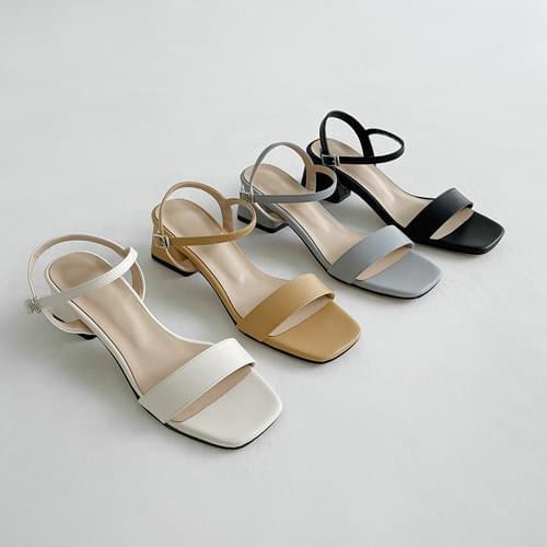 Drama strap sandals