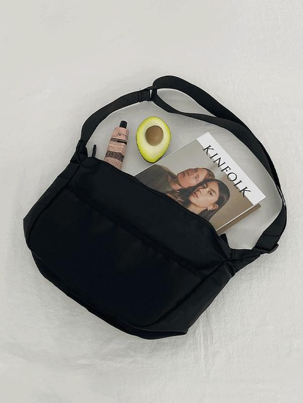 nice day messenger crossbody bag