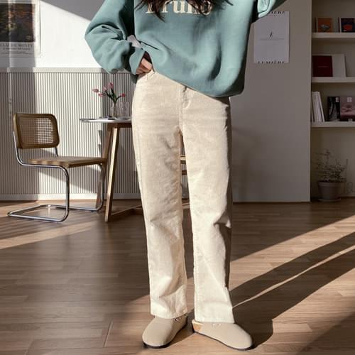 Sands Corduroy Straight Fit Pants