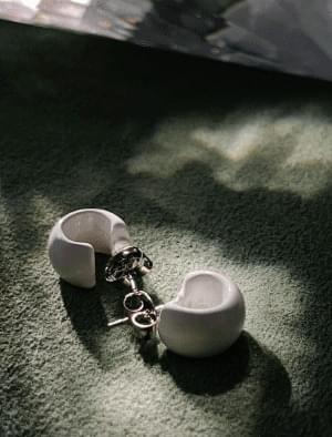 Soul Minimalist Ring Earrings