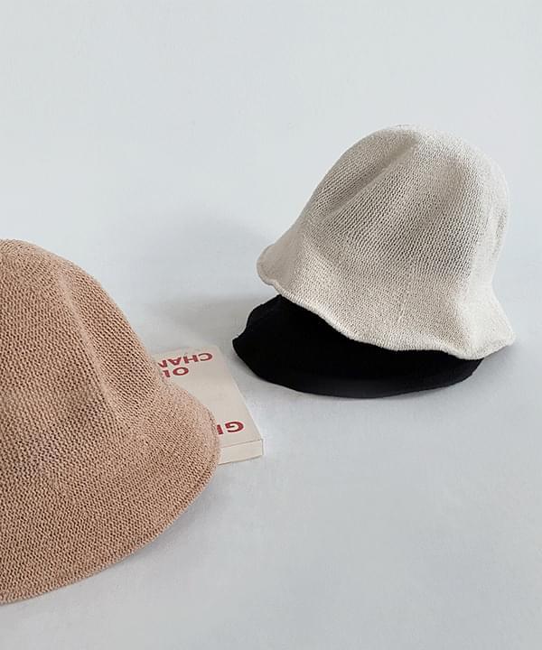 Awning Summer Knitwear Bucket Hat