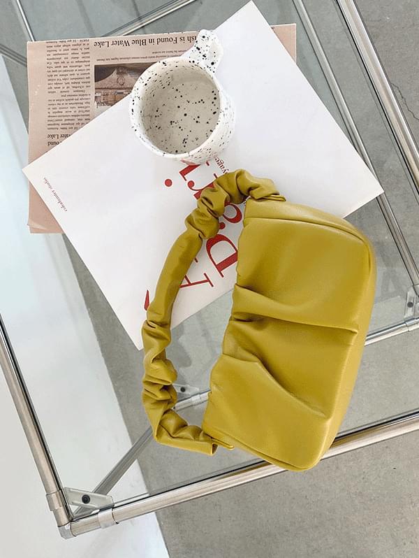 Primo handle shirring mini bag