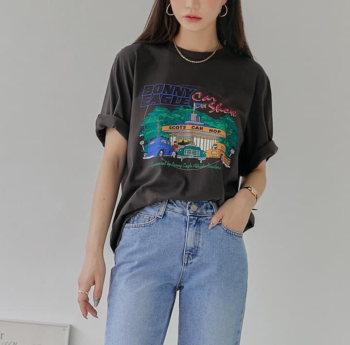 Graphic Print Loose T-Shirt