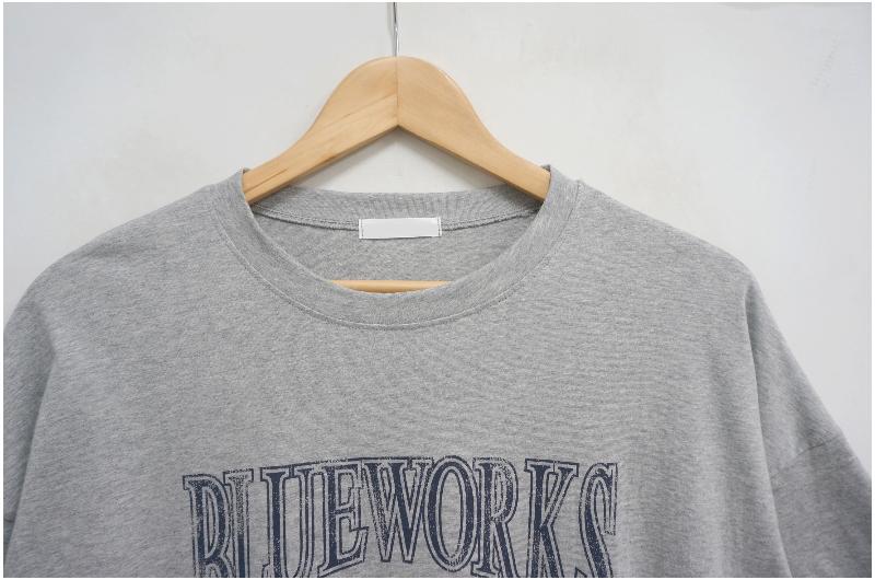 Blueworks Vintage Lettering Short Sleeve Tee