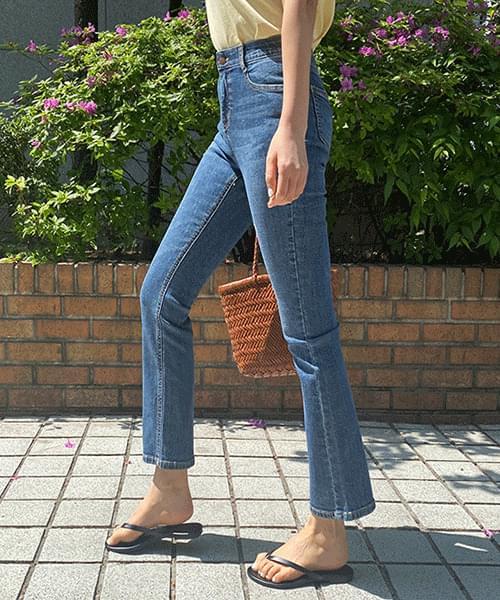 Emma Spandex Semi Flared Jeans