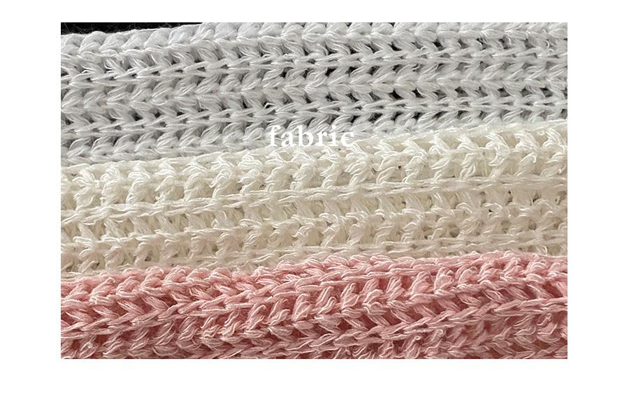 musket net cropped bolero cardigan