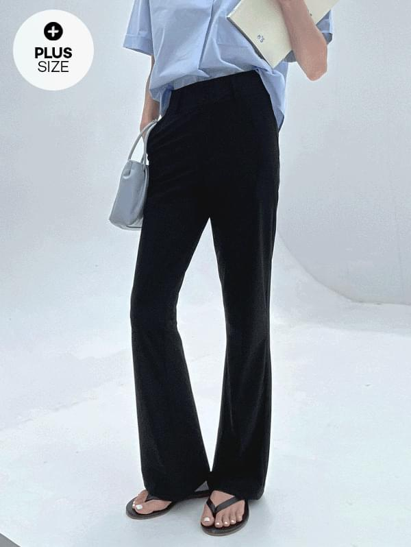 Two-button Flared cool slacks in my imagination