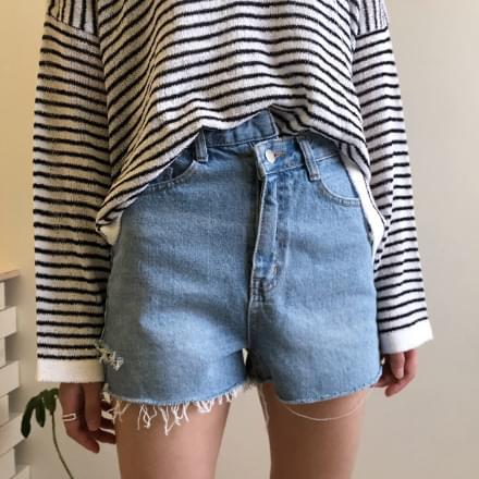 Lulu Denim Shorts
