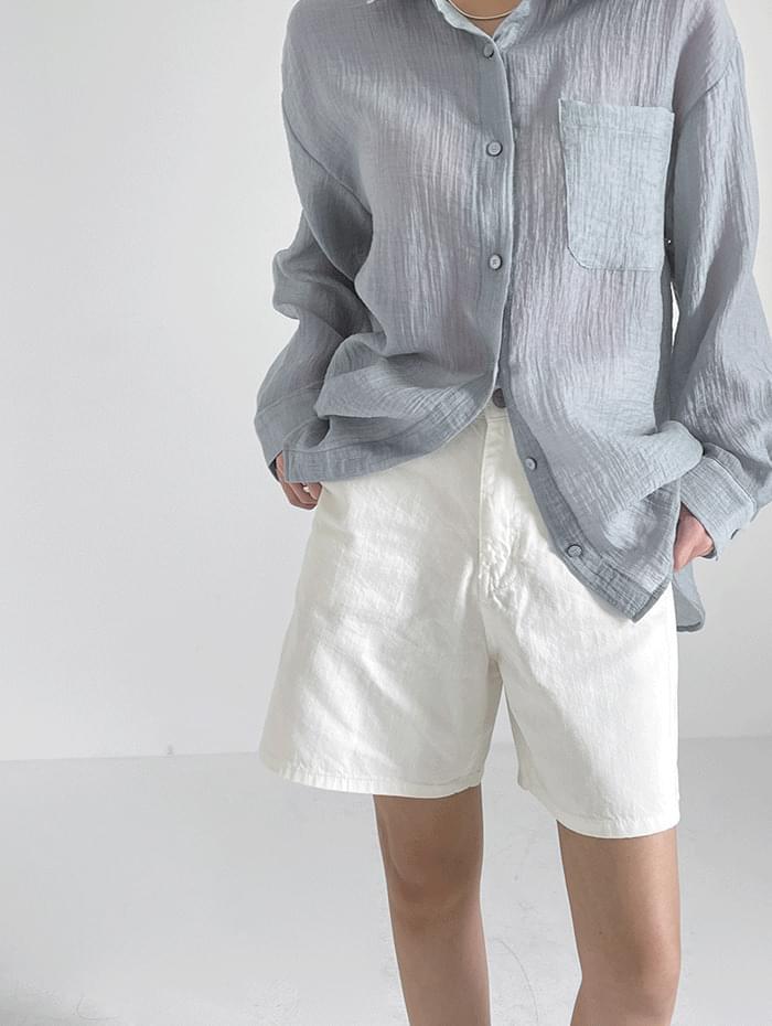 Ender Cotton Half Trousers