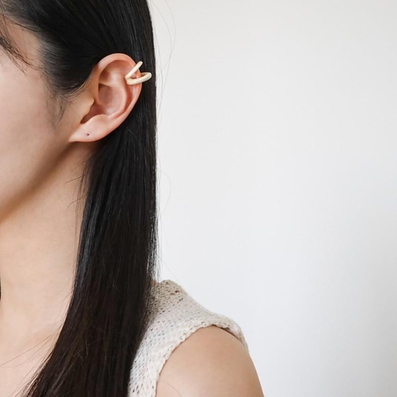 Onen simple two-line ear cuff