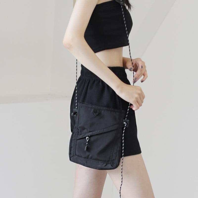 Davit diagonal mini cross-body bag