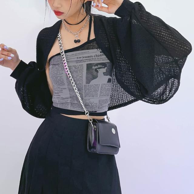 Knitwear Anna Bolero