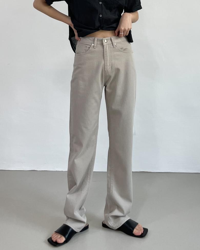 Tencel Cotton Long Regular Pants