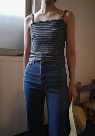 tube stripe sleeveless