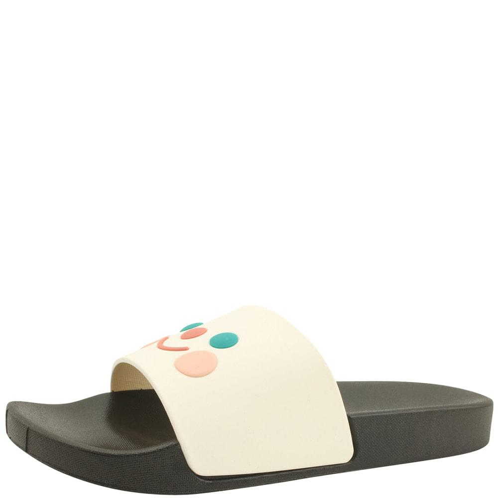 cute jelly soft slippers black