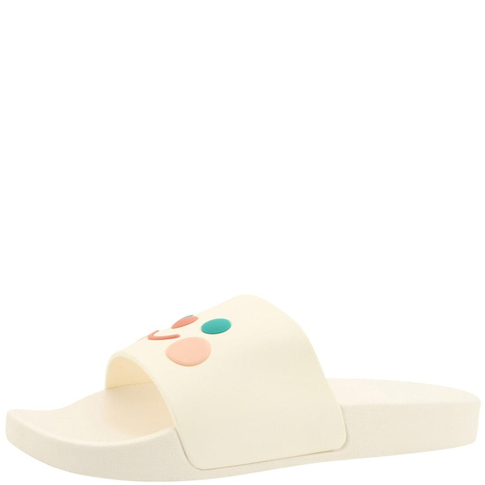 cute jelly soft slippers white