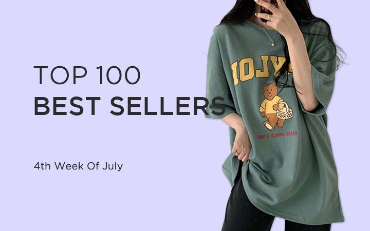TOP 100 BEST SELLERS - 4th Week Of July