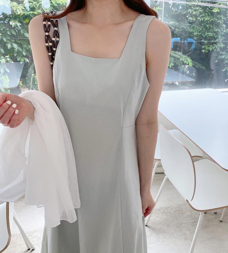 Apple Flare Long Dress