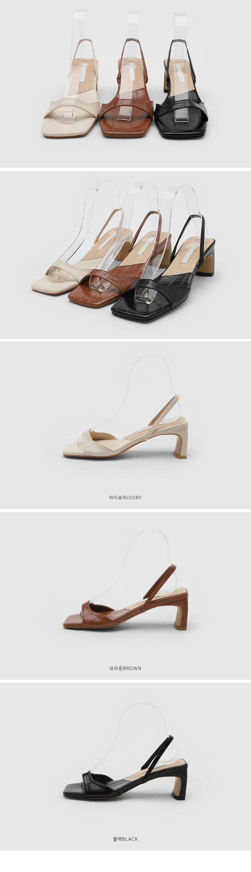 nant strap sandal heels