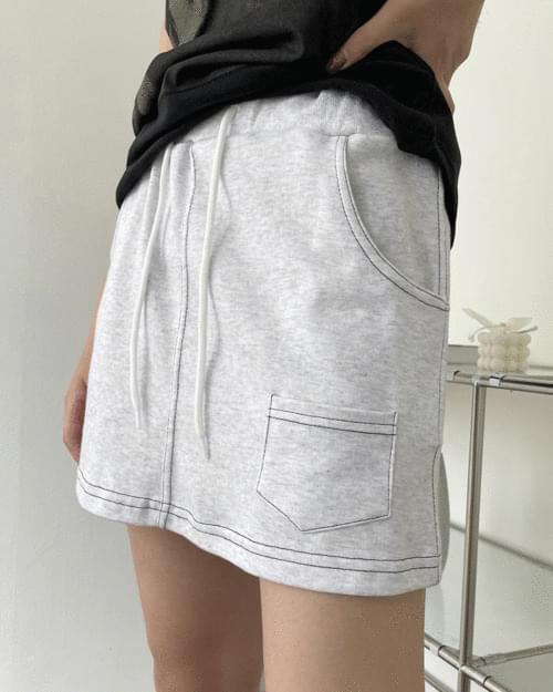Kuanku Zuri String Training Mini Skirt