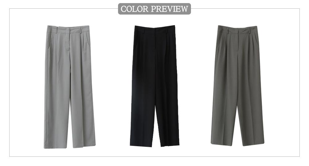 low-waisted slacks