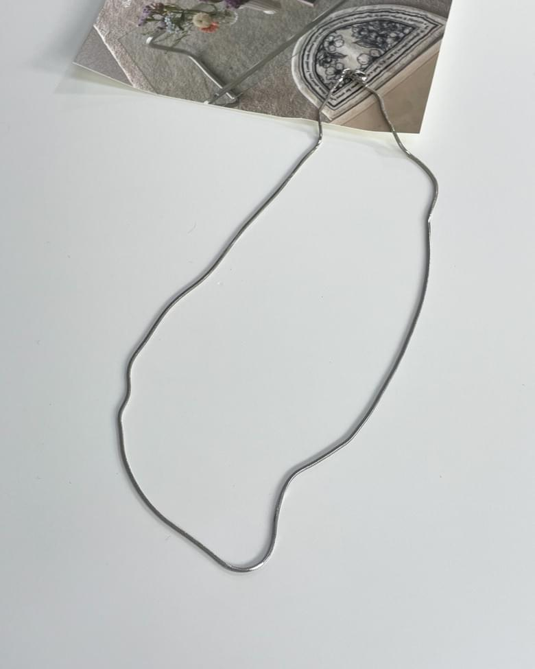 snake layered necklace