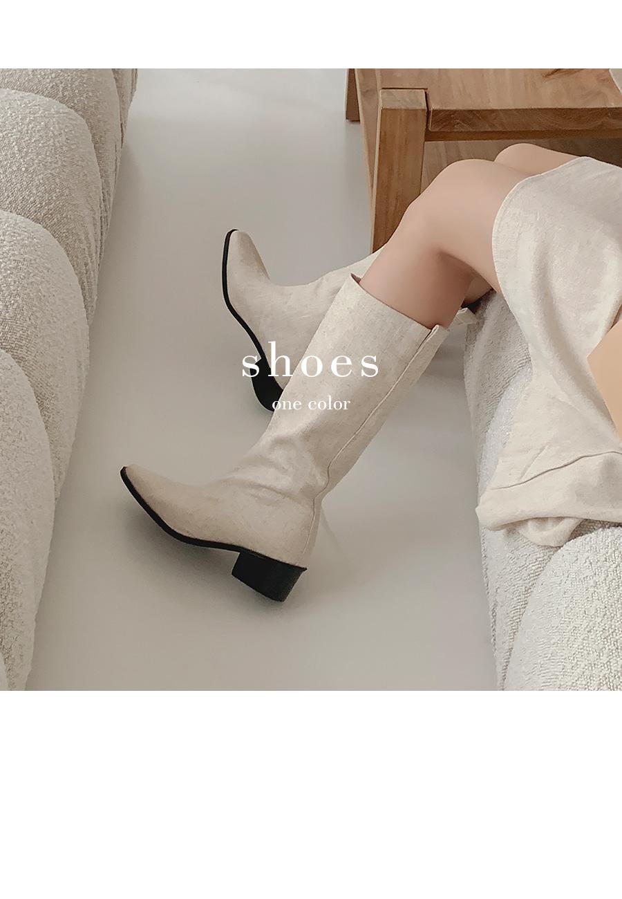 Bush Linen Boots