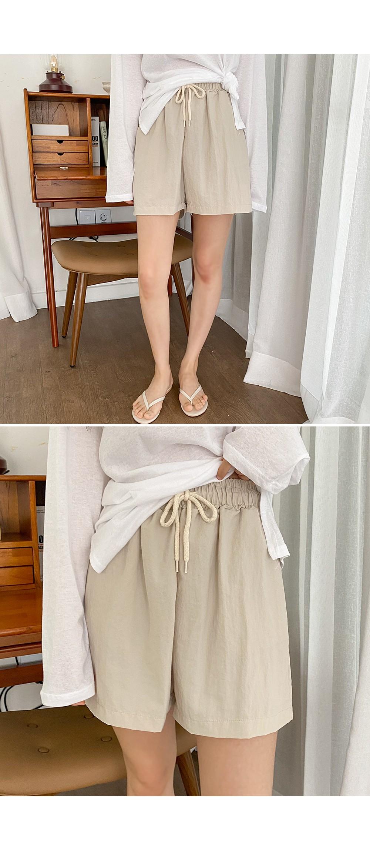 Nile Pocket Shorts Trendy Bass Lock Material