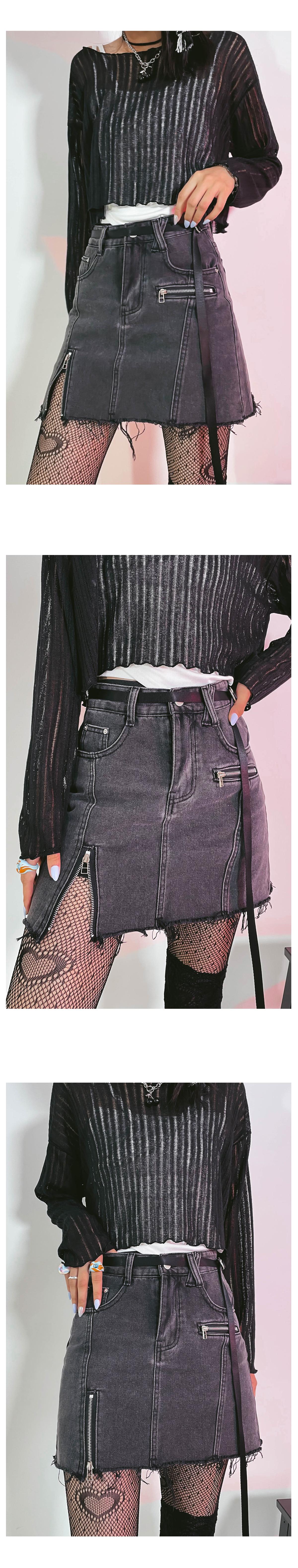 cut bubble mini skirt