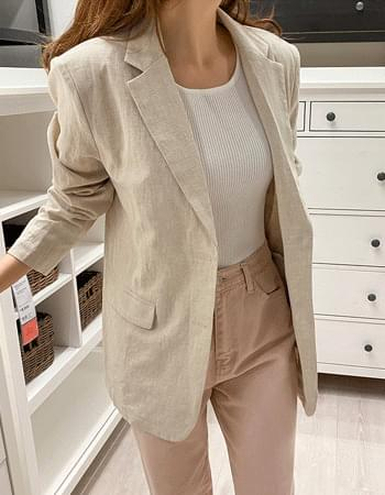 McKinn Modern Linen Jacket
