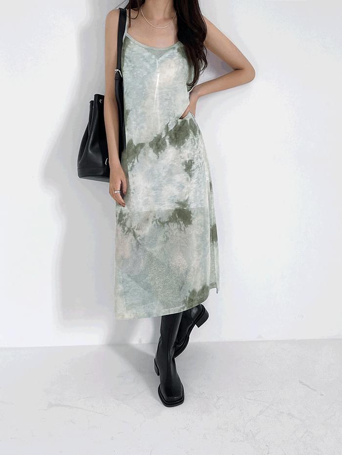 Earth Sleeveless Dress
