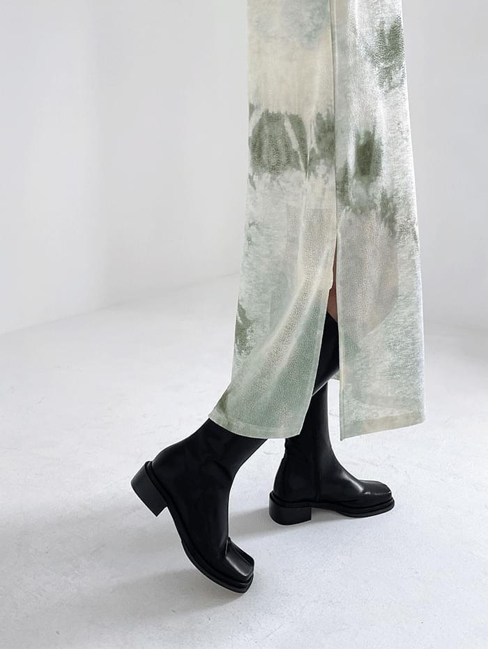 Maren Square Long Boots