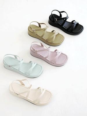 Fresh Hanner Whole Heel Strap Sandals 5cm