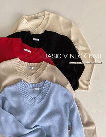 Need the V-Neck Knitwear