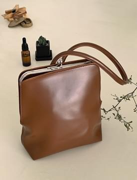 square coin tote bag