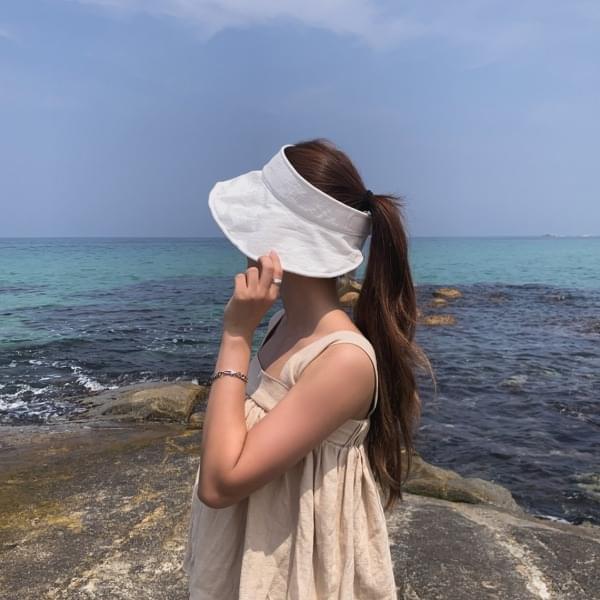 Prince Linen Sun Cap Hat 4color