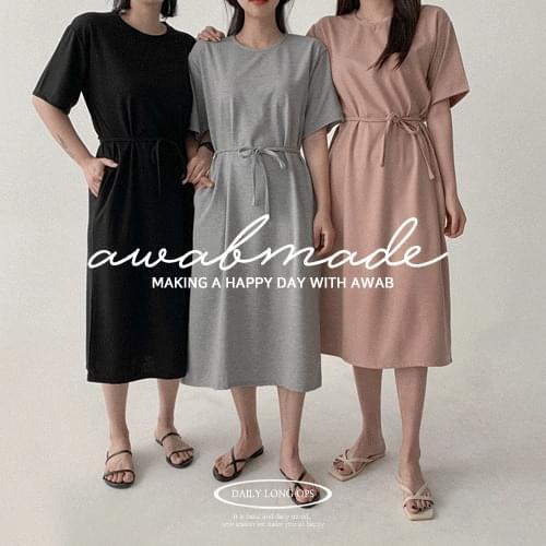 #AWABMADE:_ Soft Tok Tok Long Dress