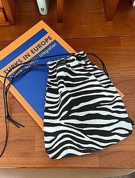 zebra mini cross bag hip attractive point bag