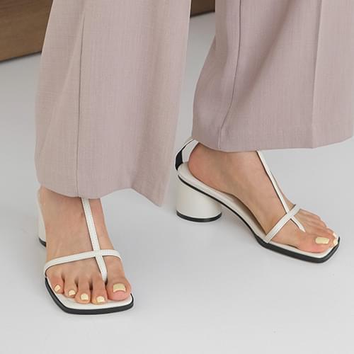 bloa strap sandal heels