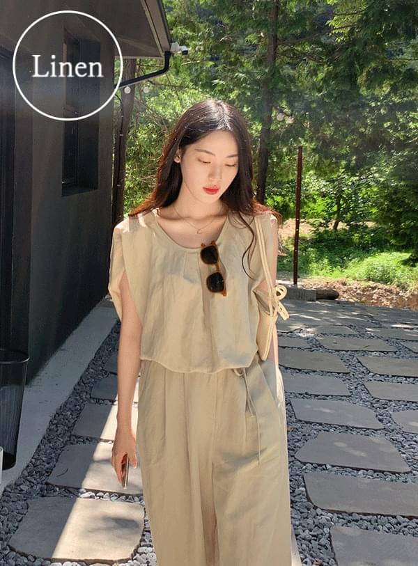 Monnie pintucked blouse