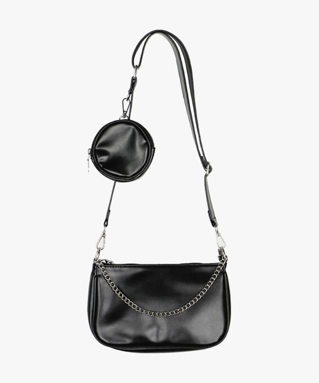 Mardan chain pocket crossbody bag