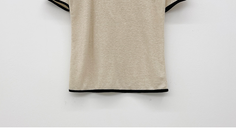 내일만나 찰랑 핀턱 뒷밴딩 반바지 + 레몬시티 스퀘어넥 반팔티셔츠