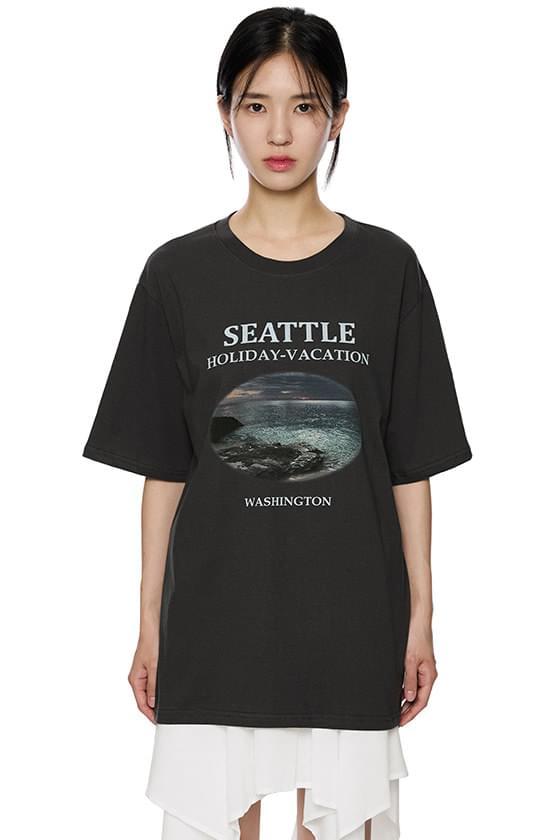 Seattle oversized T-shirt