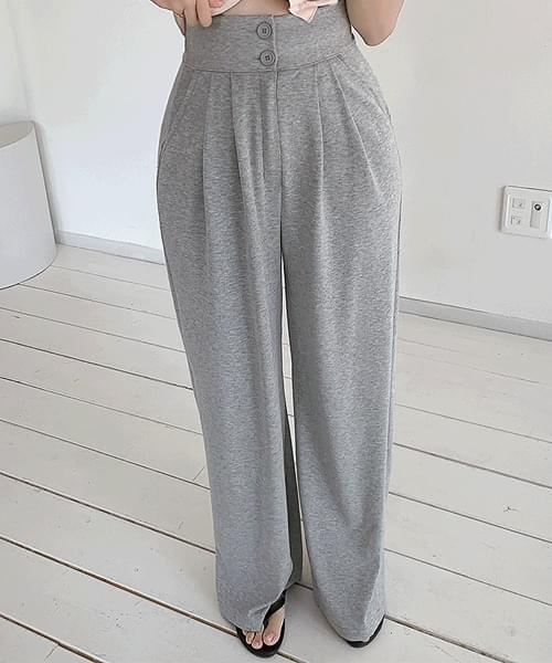 Life Up Two Button Training Wide Long Pants