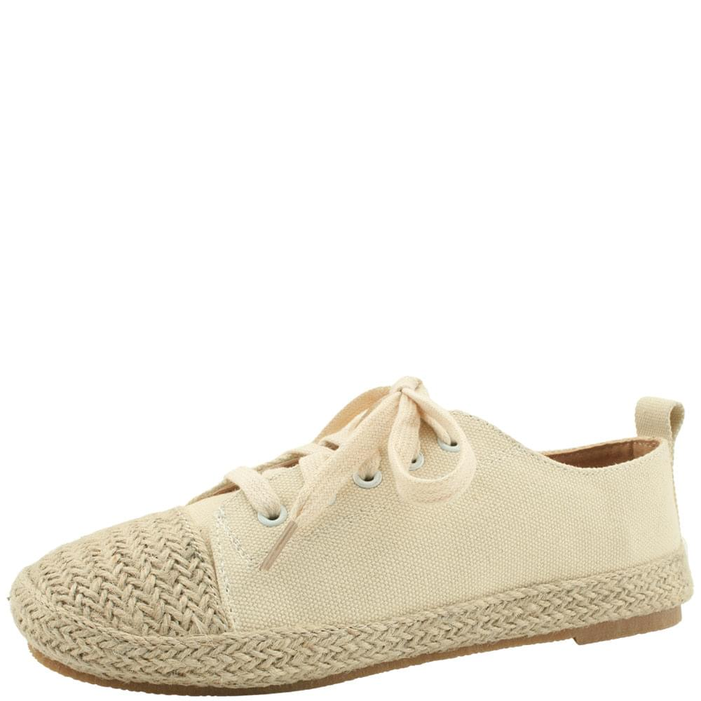 Espardue Canvas Shoes Sneakers Beige