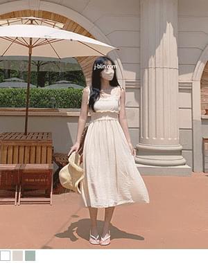 Sushi Lace Sleeveless Long Dress