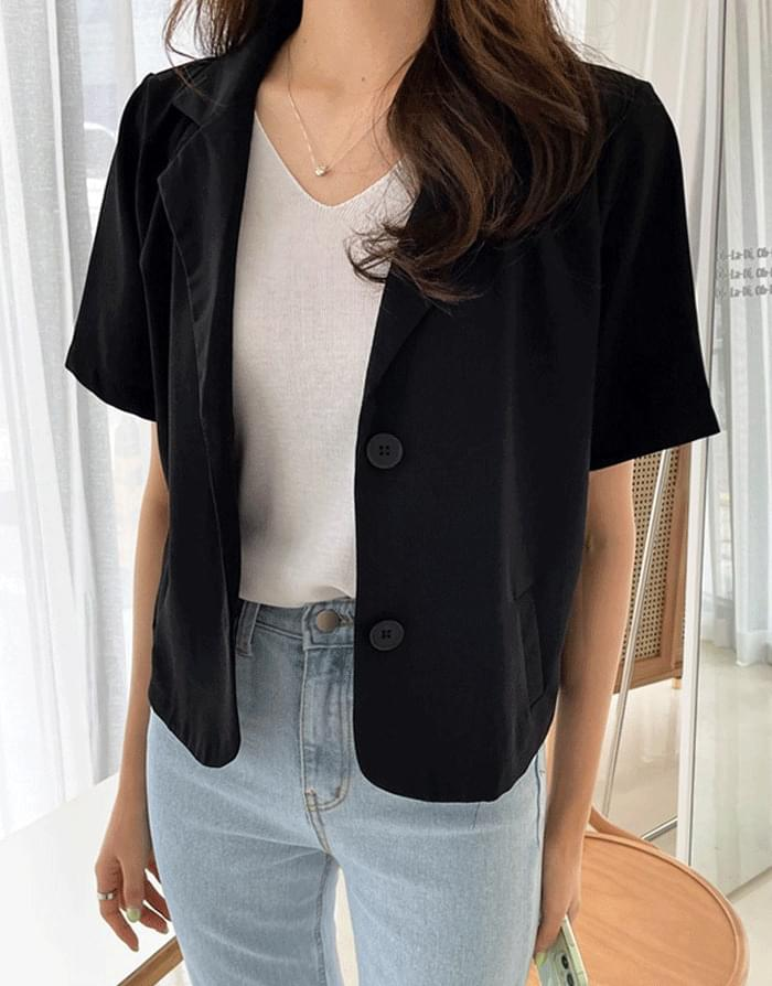 Lloyd's Short Sleeve Crop Jacket