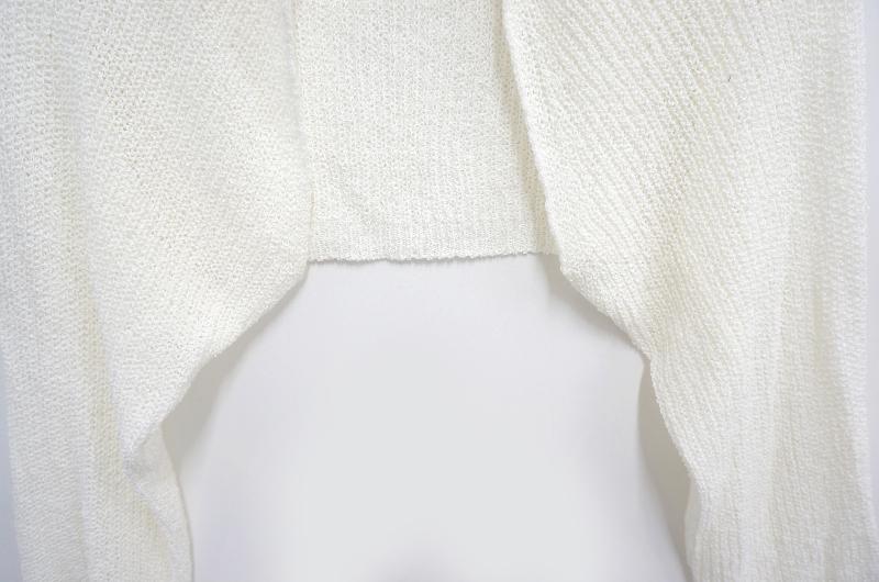 summer cropped bolero cardigan