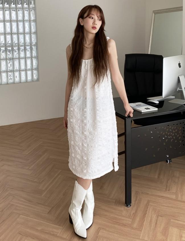peak banding Dress