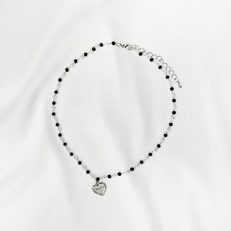 sheep heart pendant necklace